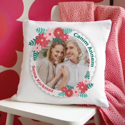 - Anneler Günü Tasarımlı Yastık