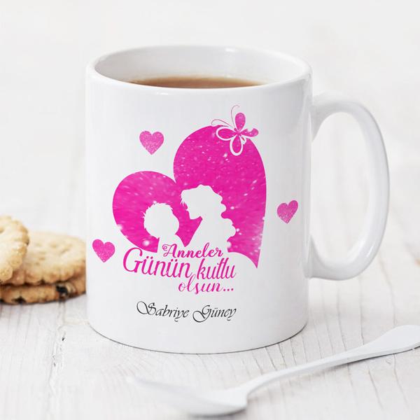 Anneler Günün Kutlu Olsun Kahve Kupası