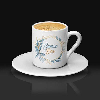 - Annelere Hediye İsme Özel Kahve Fincanı