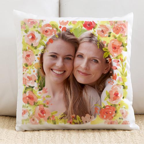 Annelere Özel Fotoğraf Baskılı Yastık