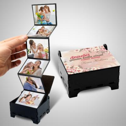 - Annelere Özel Fotoğraflı Anı Kutusu