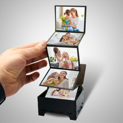 Annelere Özel Fotoğraflı Anı Kutusu - Thumbnail