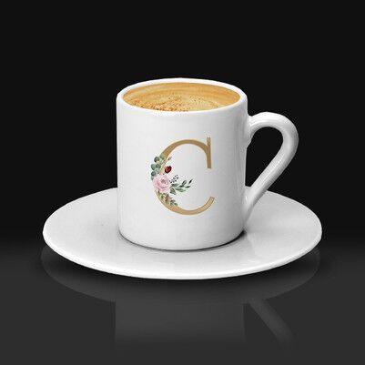 - Annelere Özel Harfli Kahve Fincanı