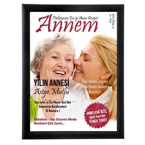 Annelere Özel Dergi Kapağı