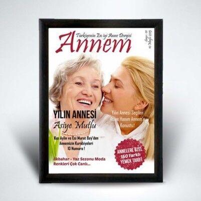 Annelere Özel Dergi Kapağı - Thumbnail