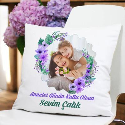 - Annelerin Bitanesi Fotoğraflı Yastık