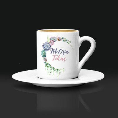 - Anneme Hediyem İsimli Kahve Fincanı
