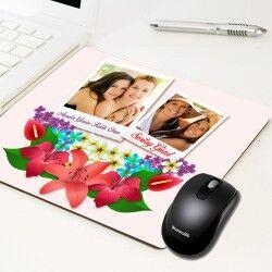 - Anneme Özel Fotoğraf Baskılı Mousepad