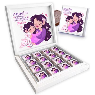 - Annesi ve Kızı Anneler Günü Çikolatası
