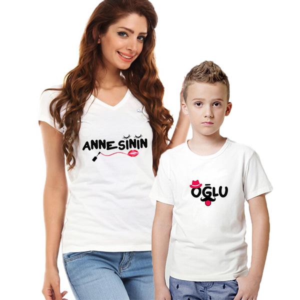 Annesin Oğlu İkili Tişörtleri