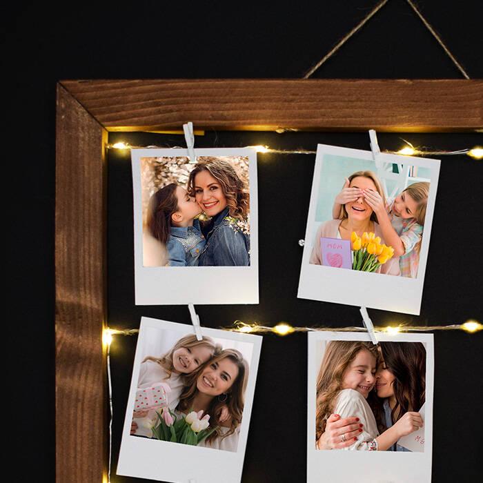 Anneye Hediye Işıklı Anı Çerçevesi