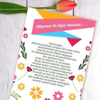 Anneye Özel Sevgi Mektubu - Thumbnail
