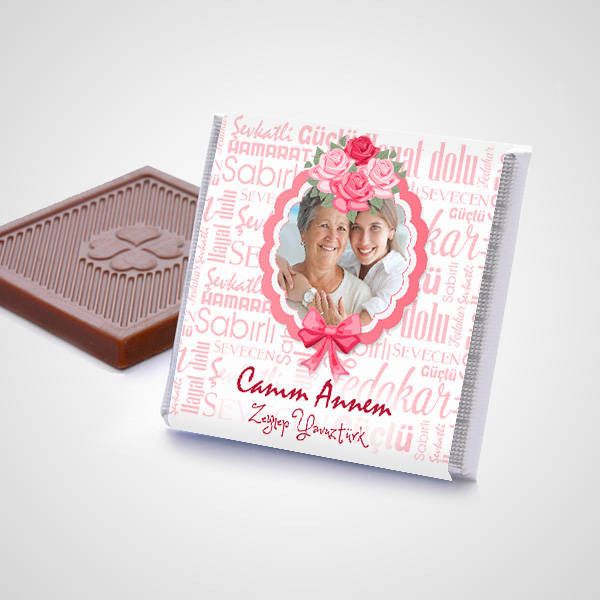 Anneye Sürpriz Çikolata Konservesi