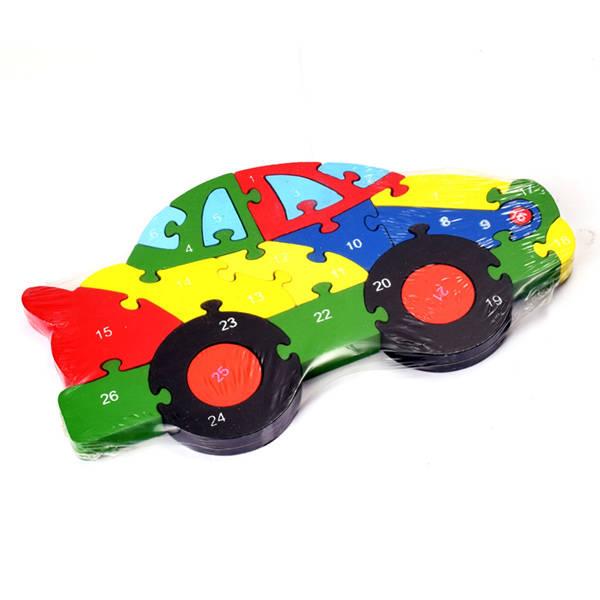 Araba Şeklinde Zeka Geliştirici Oyuncak