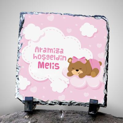 Aramıza Hoşgeldin İsimli Dekoratif Taş - Thumbnail