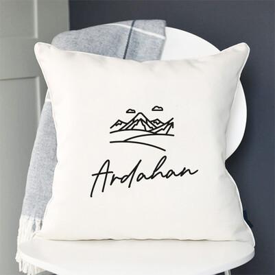 - Ardahan Tasarımlı Yastık