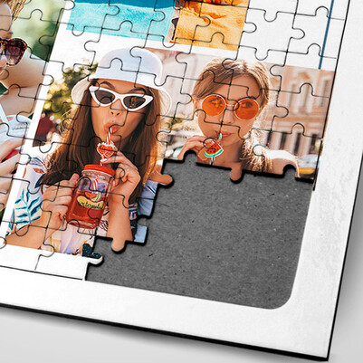 Arkadaşa Hediye Fotoğraflı Puzzle - Thumbnail