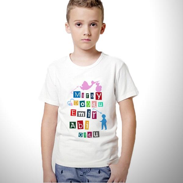 Artık Abi Oldun Erkek Çocuk Tişörtü