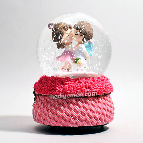Aşık Sevgililer Romantik Kar Küresi KB23