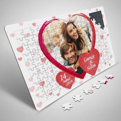 - Aşk Ateşimiz 130 Parça Puzzle