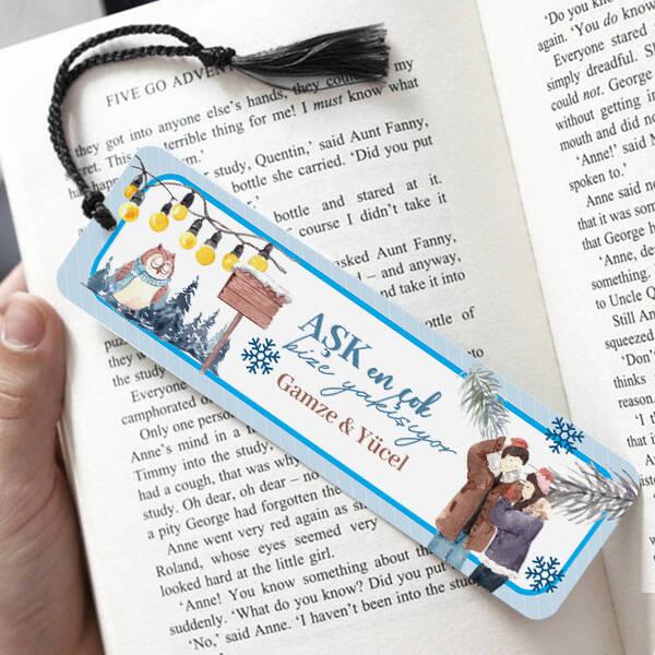 Aşk Bize Yakışıyor Kitap Ayracı
