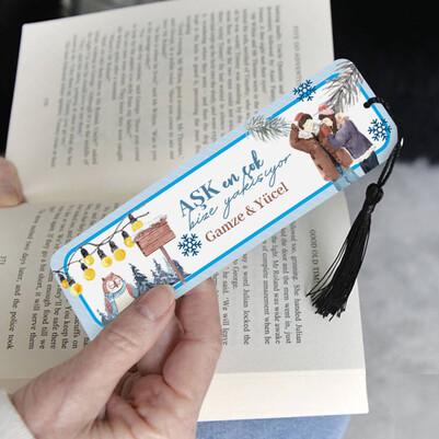Aşk Bize Yakışıyor Kitap Ayracı - Thumbnail