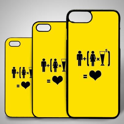 - Aşk Nedir Esprili iPhone Telefon Kapağı