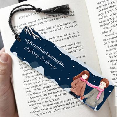- Aşk Seninle Bambaşka Kitap Ayracı