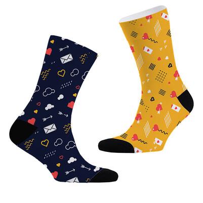 - Aşk Sinyalleri 2'li Çorap Seti