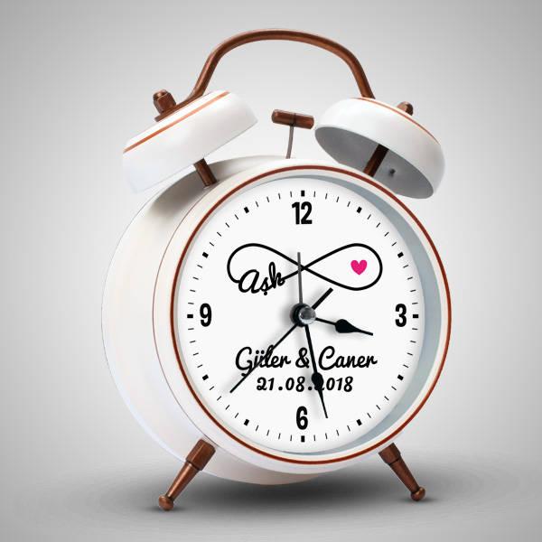 Aşk Temalı Sevgililere Özel Çalar Saat
