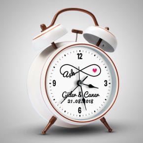 - Aşk Temalı Sevgililere Özel Çalar Saat