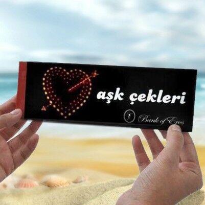 - Aşk Çek Defteri
