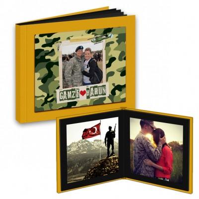 - Asker Sevgiliye Özel Foto Kitap Albüm