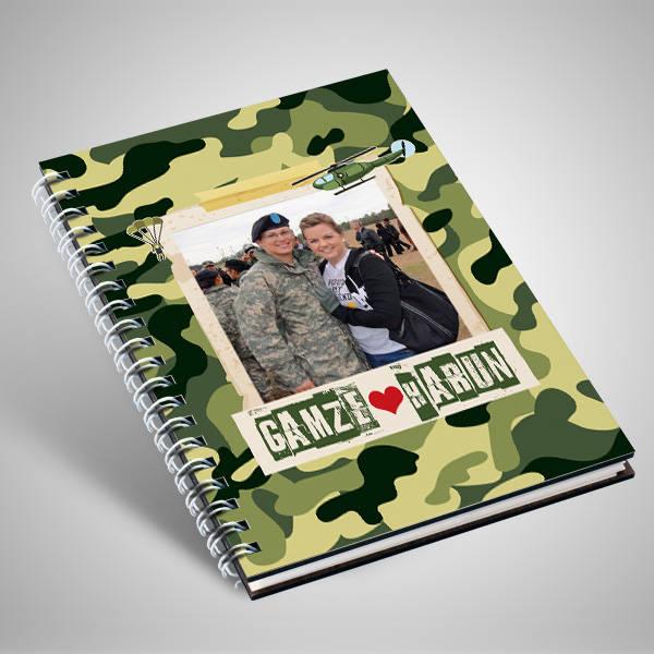 Asker Sevgiliye Özel Sevgili Defteri