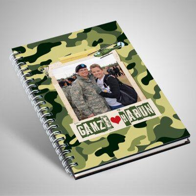 Asker Sevgiliye Özel Sevgili Defteri - Thumbnail