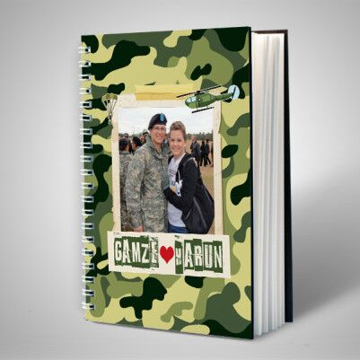 - Asker Sevgiliye Özel Sevgili Defteri