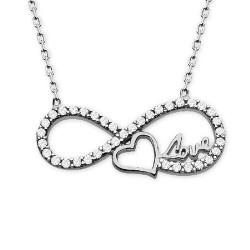 - Aşkın Kalbimde Sonsuza Kadar Gümüş Kolye