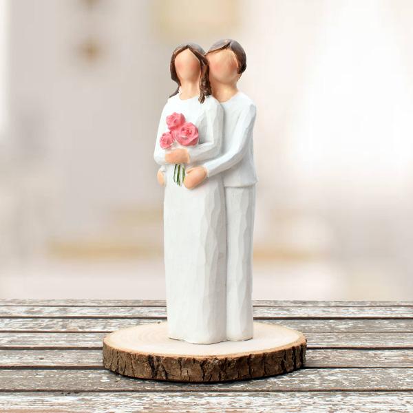 Aşkın Saf Hali Romantik Biblo