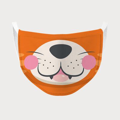 Aslan Kral Tasarımlı Çocuk Maskesi - Thumbnail