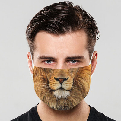 - Aslan Kral Yıkanabilir Ağız Maskesi