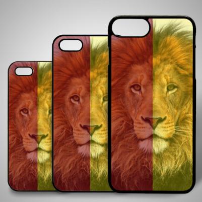 - Aslan Temalı iPhone Telefon Kapağı