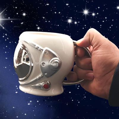 Astronot Kupa Bardak - Thumbnail