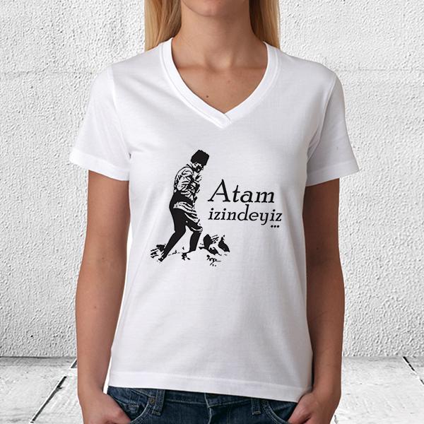 ATAM İzindeyiz Erkek ve Bayan Tişörtü