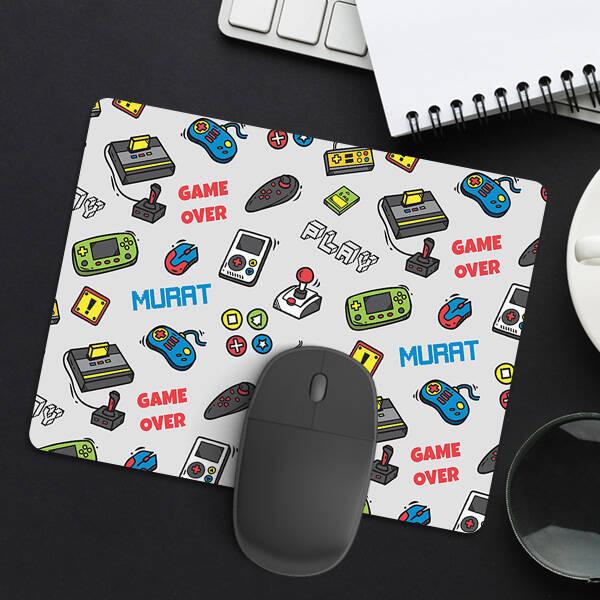Atari Tasarımlı İsme Özel Mousepad