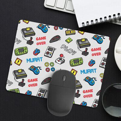 Atari Tasarımlı İsme Özel Mousepad - Thumbnail