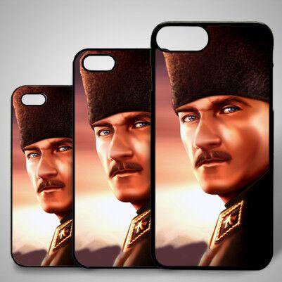 - Atatürk Resimli iPhone Kapağı