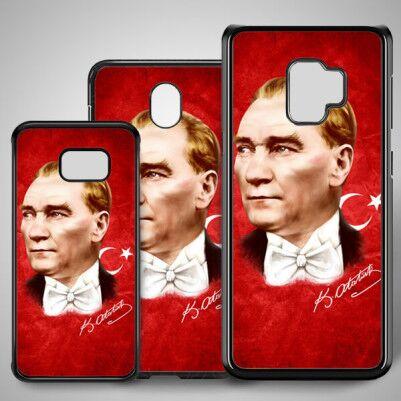 - Atatürk Resimli Samsung Telefon Kılıfı