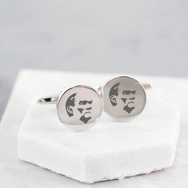Atatürk Simgeli Gömlek Kol Düğmesi