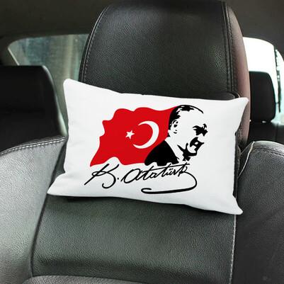 - Atatürk Temalı Araç Koltuk Yastığı
