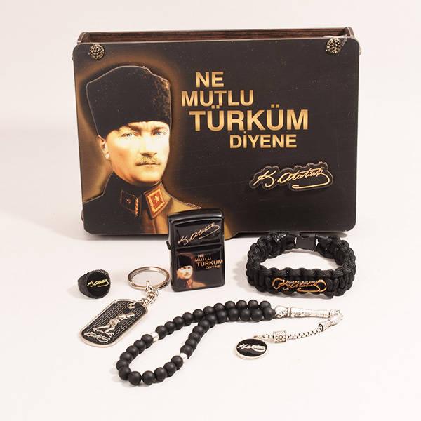 Atatürk Temalı Erkek Hediye Seti